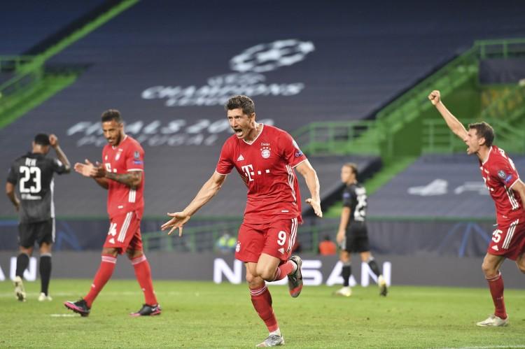 莱万中选2020年德国足球先生,穆勒基米希分列二三位