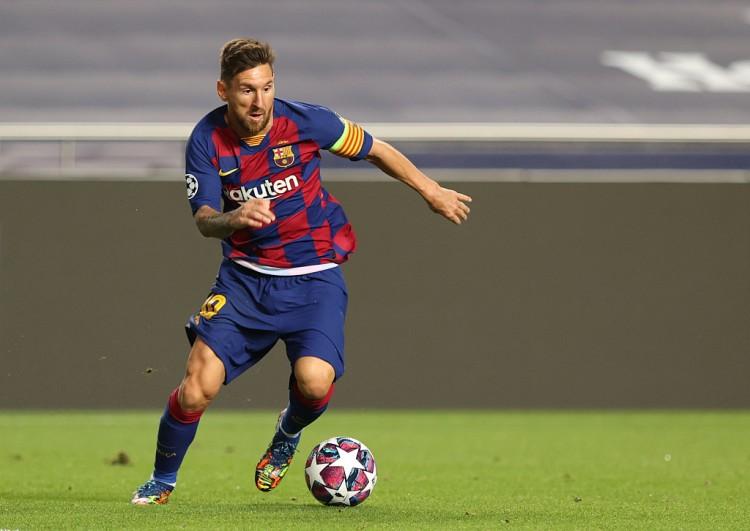 梅西2021年已打入4球,是他职业生计第二好的年度局面