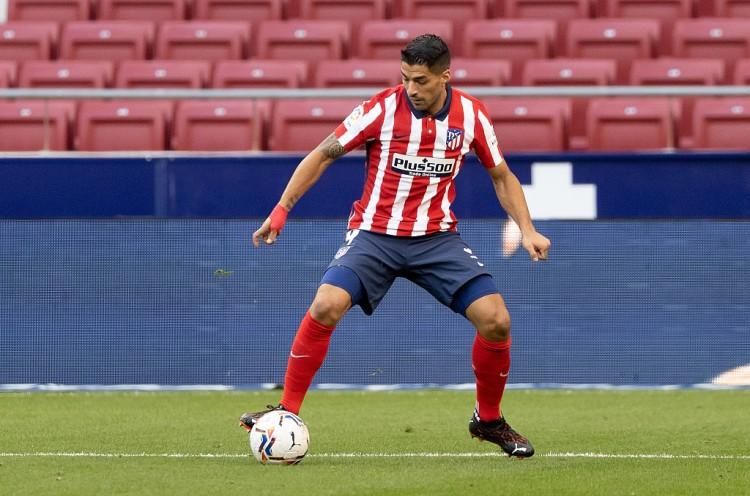 苏亚雷斯已接连23个欧冠客场未进球,上一次客场进球是在2015年   