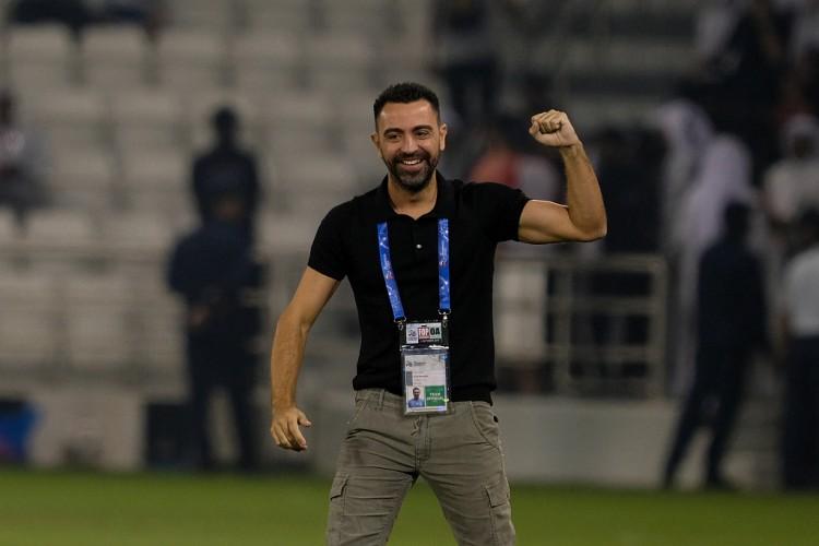 巴萨主教练准备?哈维带领阿尔萨德连场7-0,球队近5场进30球 