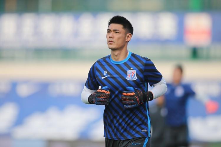 入选国家足球队新集训名单的申花门将曾诚已经基本伤愈