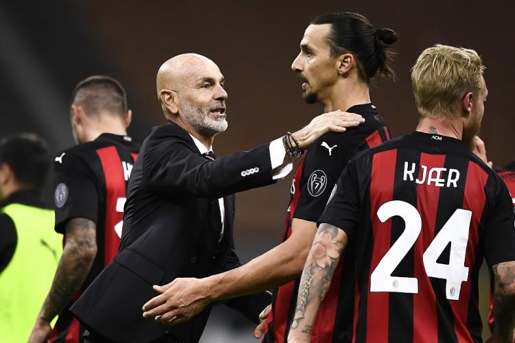 自意甲6月重启以来,AC米兰总共拿到50分是同期拿分最多的球队