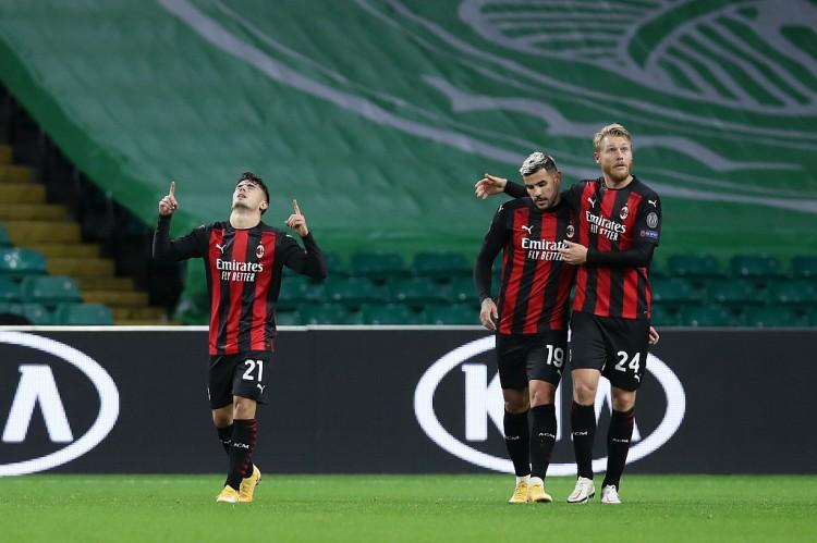 多点开花,AC米兰本赛季10场比赛中有11名球员取得过进球
