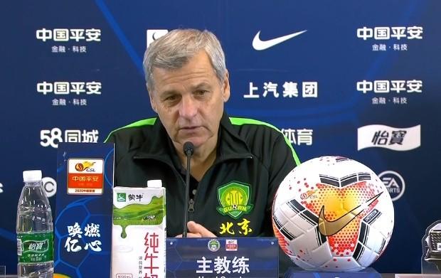 记者:热内西奥团队已从北京运走家当,不再续约国安已不是隐秘