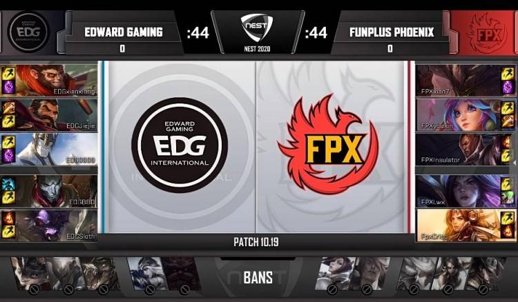 FPX vs EDG开打,lwx卡莎发挥亮眼,帮助FPX拿下首胜