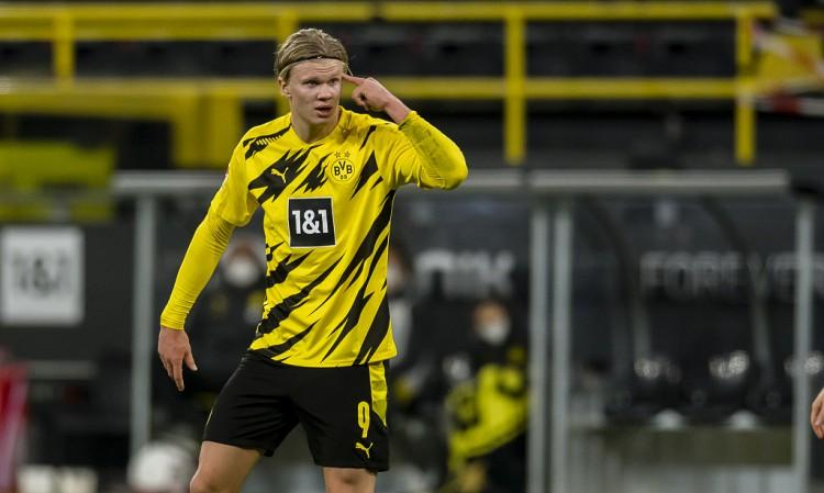 多特前锋哈兰德因隔离观察,将缺席本轮德甲比赛  