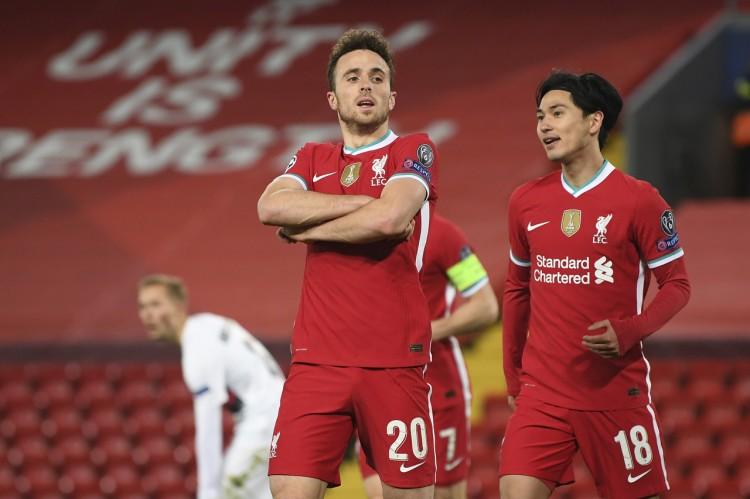斯科尔斯:若塔让利物浦锋线具有比赛压力,这促进互相前进