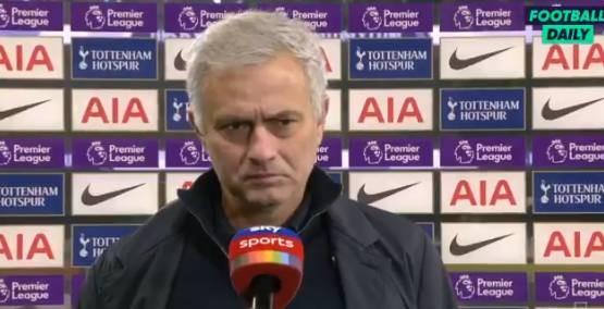 穆里尼奥:我要给阿尔特塔称誉,阿森纳让我们踢得十分困难 ?