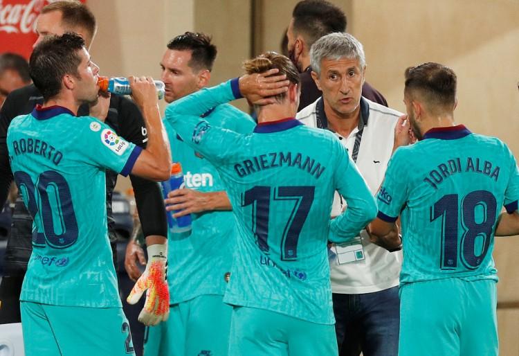 塞蒂恩助教:教练组和巴萨球员没矛盾 输拜仁是许多事累积的成果