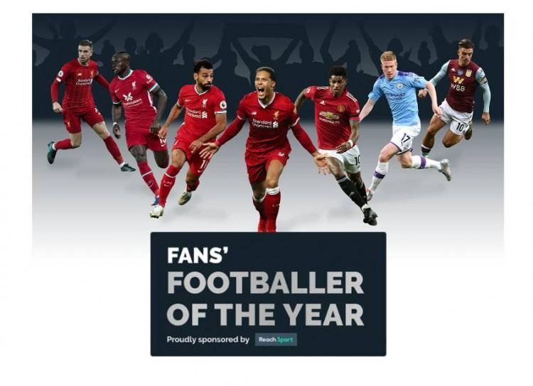 英媒主张球迷票选英超年度最佳球员:赤军4人进入候选   