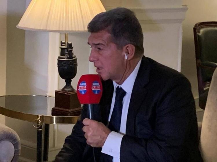 拉波尔塔:瓜迪奥拉是最佳教练 我们会尽一切努力让梅西留下来