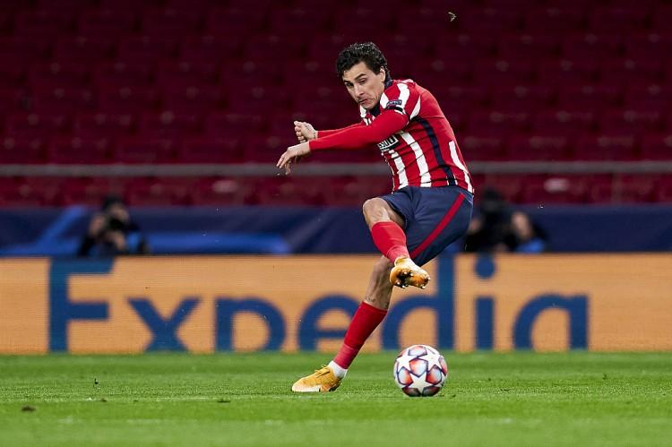 吉梅内斯马竞200场里程碑伤退,官方确认球员左脚踝受伤