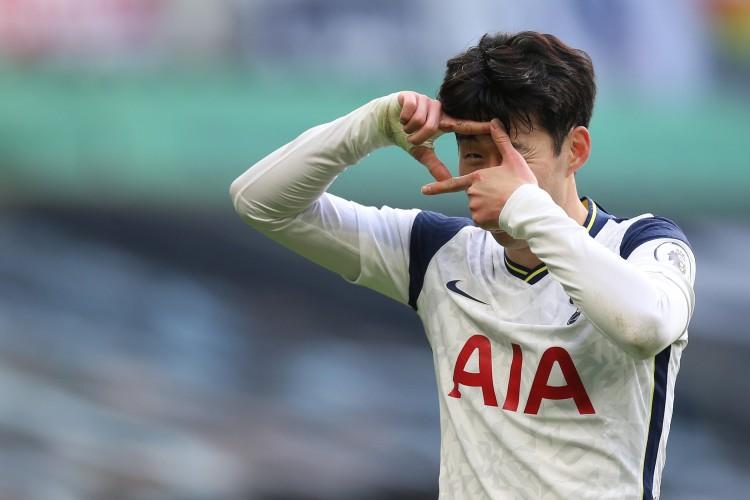 队史第四位,孙兴慜已为热刺攻入20个欧战正赛进球