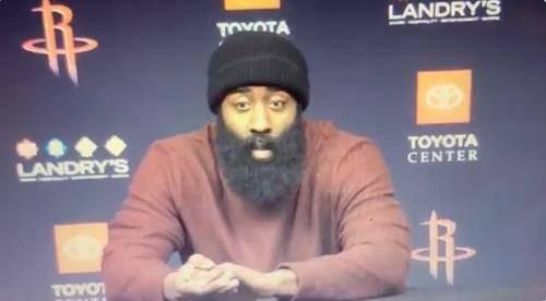 哈登:我们还不够好 不在意MVP竞赛