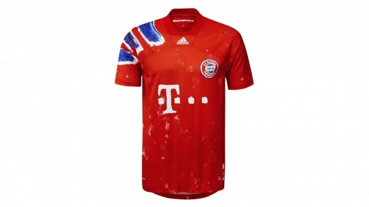 拜仁出卖人类主题纪念球衣,并将10万欧收入捐给国际SOS儿童村