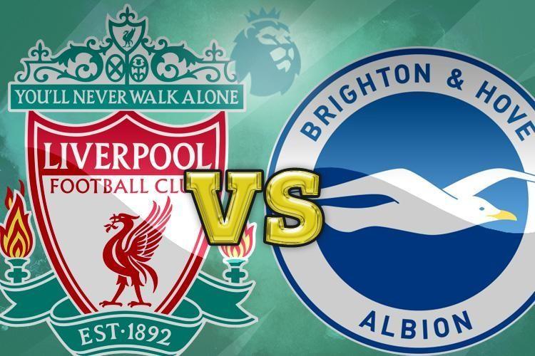 利物浦vs布莱顿前瞻:红军紧追曼市双雄