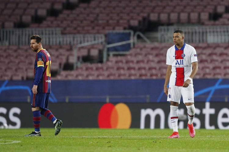 六台:若梅西没加盟,巴黎不会低于2亿欧元的价格放走姆巴佩