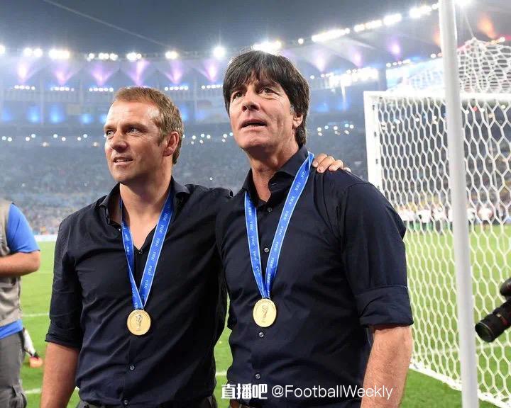 德国足球教练勒夫好帅