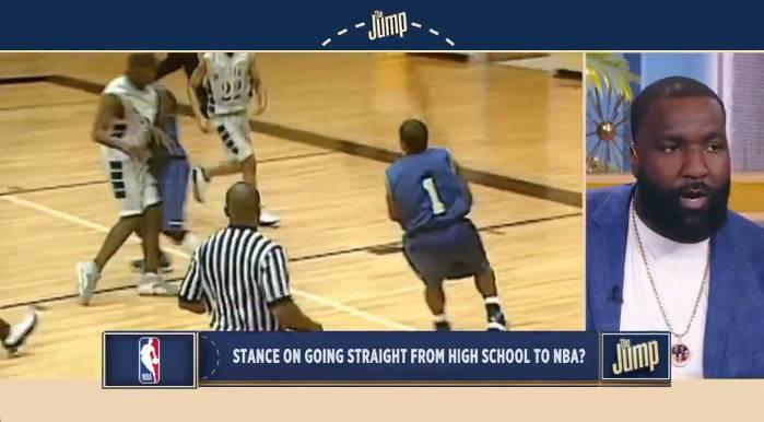 帕金斯:NBA可以允许高中生进入联盟 有梦就该去追逐