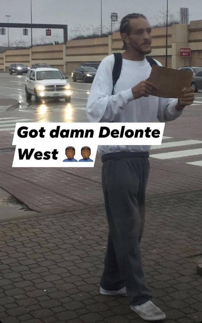 前NBA球员沿街乞讨