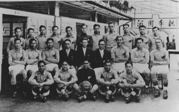 早期的中国足球队