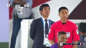 哈特姆弧线斩世界波再下一城 卡塔尔2-0领先日本