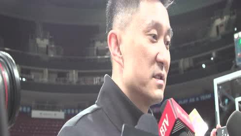 杜锋:李易峰会支持广东队和书豪