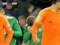 北爱尔兰vs荷兰 集锦