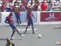 科比曾参加五人制足球赛